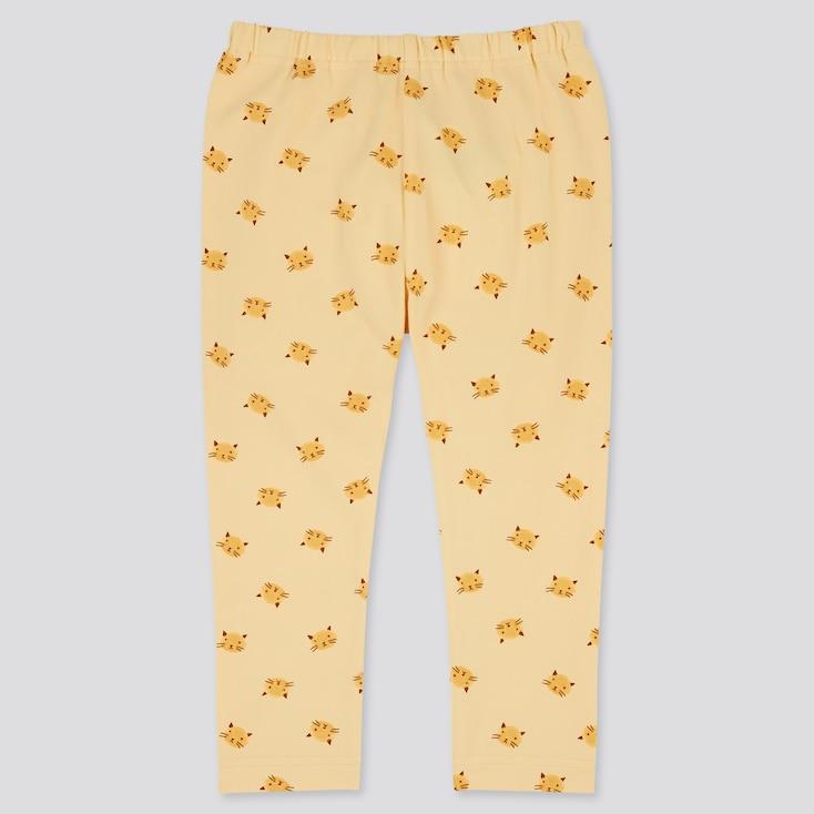 Baby Full-Length Leggings, Yellow, Large