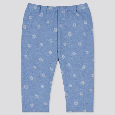 Babies Toddler Daisy Print Cropped Leggings