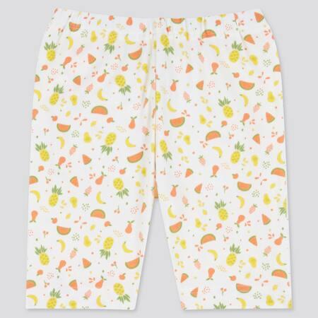 BABIES TODDLER DRY Fruit Print Half Length Leggings