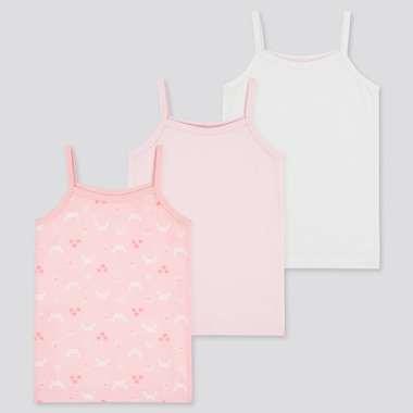 Toddler Cotton Mesh Camisole (3 Pack) (Online Exclusive), Pink, Medium