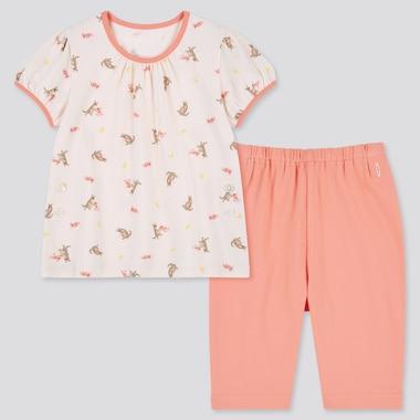 Baby Kurzärmliger gemusterter DRY Pyjama