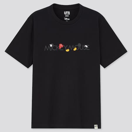 Men Mickey Motifs UT Graphic T-Shirt