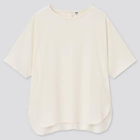 Women Silfeel Short Sleeved T-Shirt Blouse
