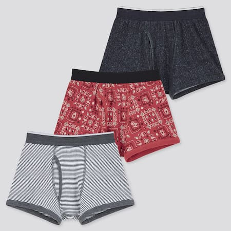 Boys Boxer Briefs (Three Pack)