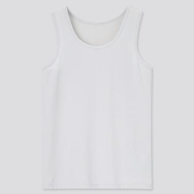 Kids Airism Mesh Tank Top, Light Gray, Medium