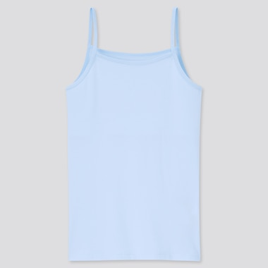 Girls AIRism Cotton Blend Half Lined Camisole Top