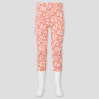 Girls DRY Printed Cropped Leggings