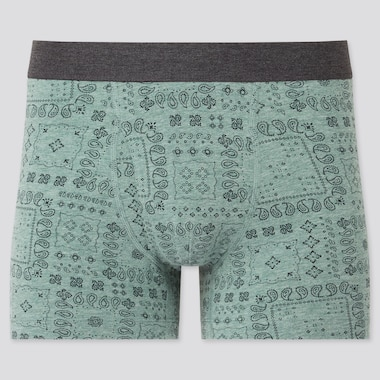 Men Supima Cotton Printed Boxer Shorts