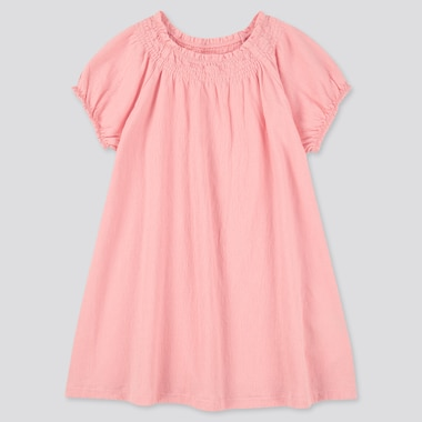 Toddler Short-Sleeve Dress (Online Exclusive), Pink, Medium