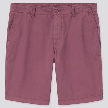 Chino Shorts, Red, Medium