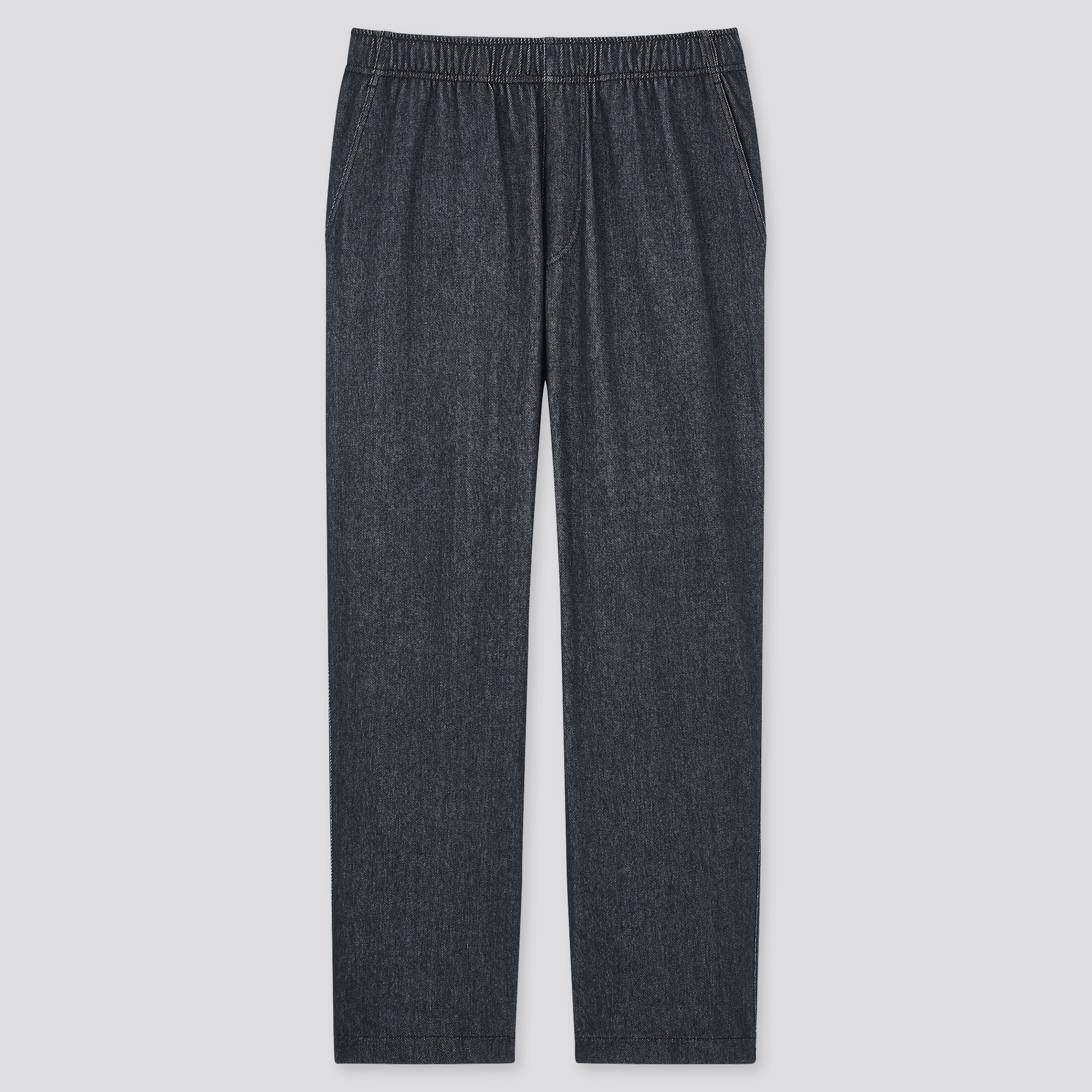 MEN JERSEY RELAXED ANKLE PANTS
