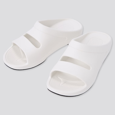 Comfort Sandals, Off White, Medium