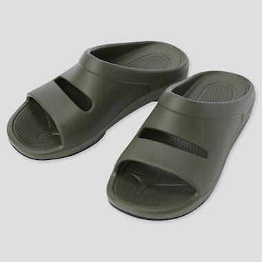 Comfort Sandals, Olive, Medium