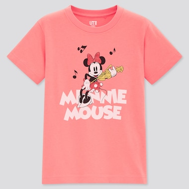 Kids Magic For All Timeless Classics Ut (Short-Sleeve Graphic T-Shirt), Pink, Medium