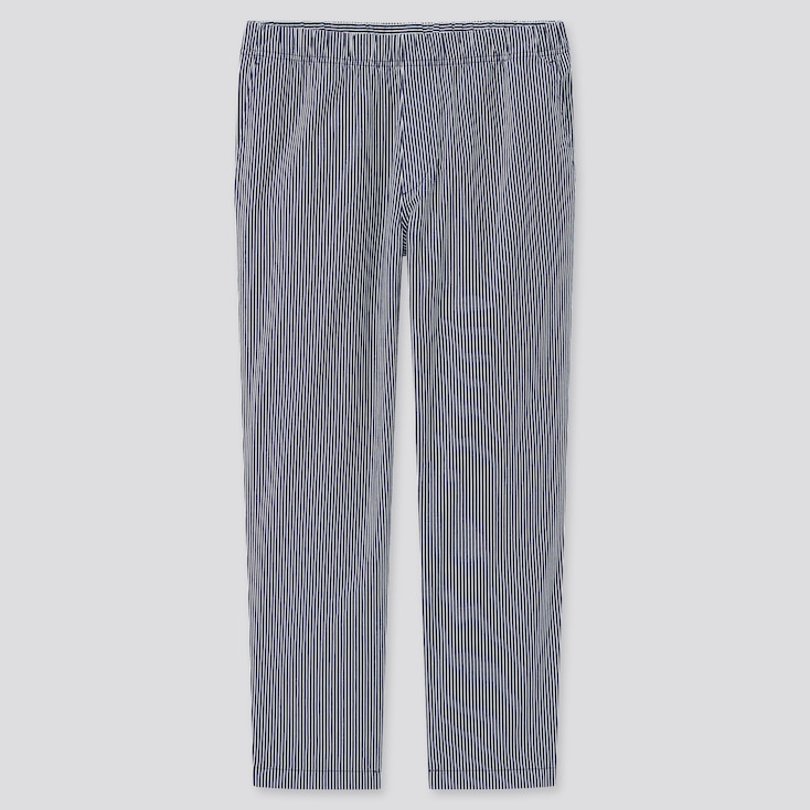 MEN COTTON RELAXED ANKLE PANTS