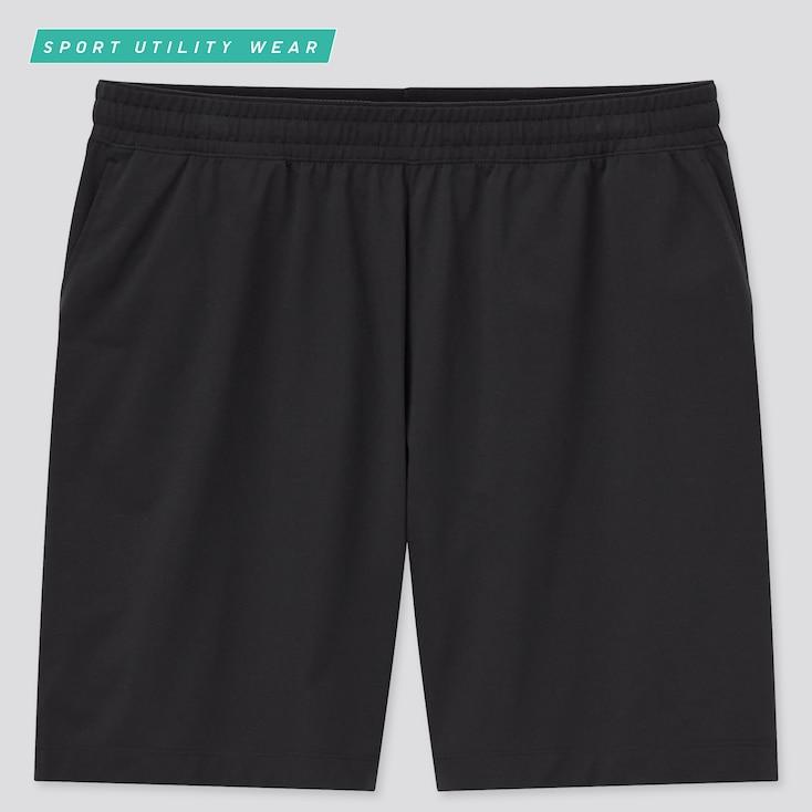 Men Dry-Ex Ultra Stretch Active Shorts, Black, Large