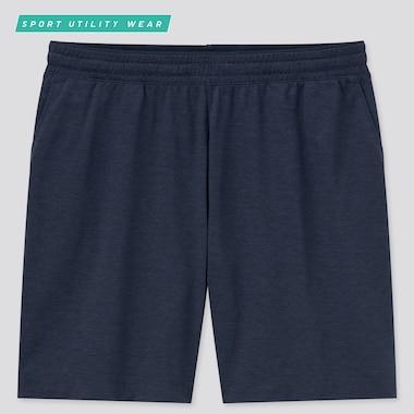 Men Dry-Ex Ultra Stretch Active Shorts, Navy, Medium