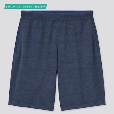 Men Dry-Ex Shorts, Navy, Medium