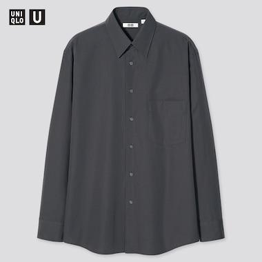 Men Uniqlo U Relaxed Fit Shirt (Regular Collar)