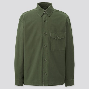 Jersey Overshirt Jacket