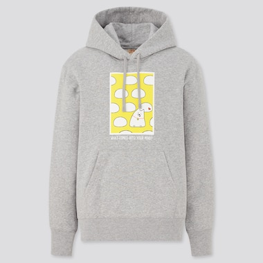 MEN ROY6 By Line Friends UT Graphic Sweat Hoodie