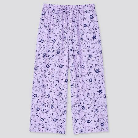 Women Relaco Vine Print 3/4 Length Shorts