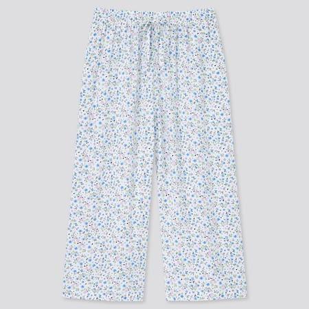 Women Flower Print 3/4 Length Shorts
