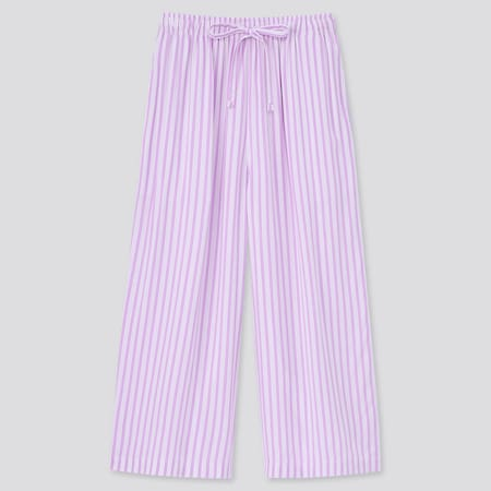 Women Striped 3/4 Length Shorts