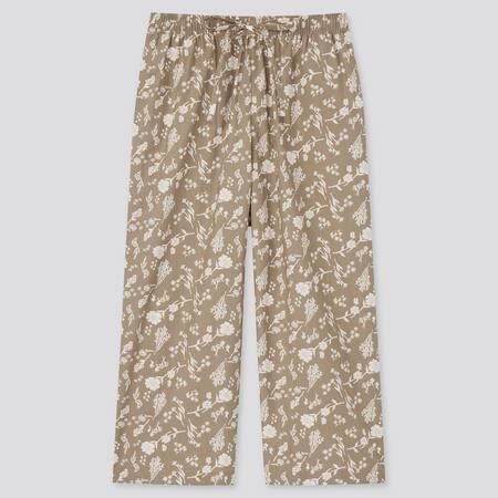 Women Cotton Floral Print 3/4 Length Relaco Shorts