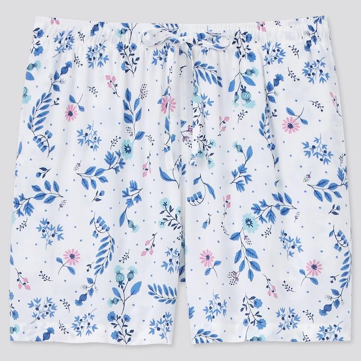 Women Relaco Shorts, Off White, Large