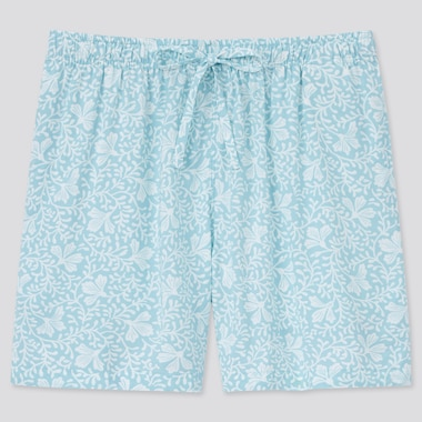 Women Relaco Shorts, Light Blue, Medium