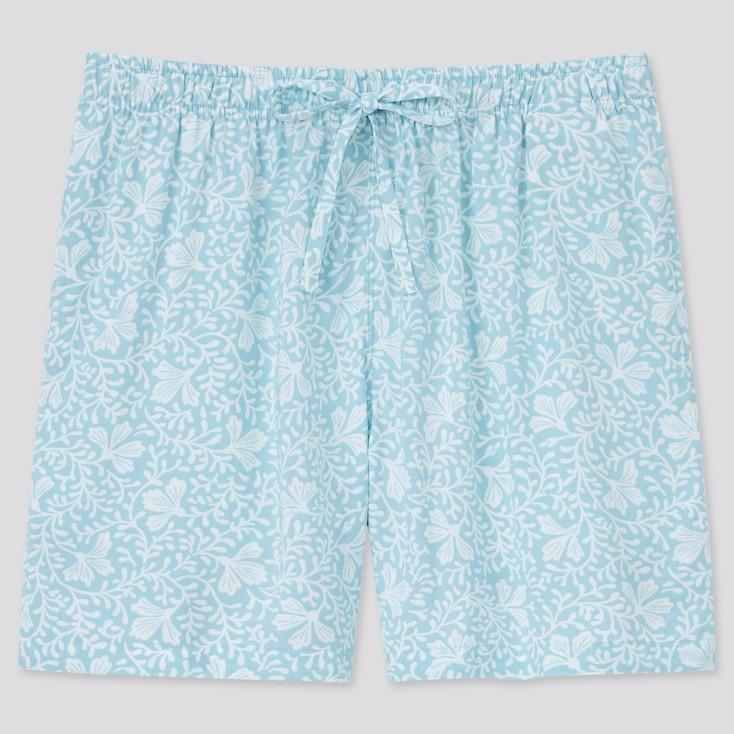 Women Relaco Shorts, Light Blue, Large