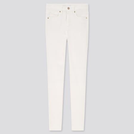 Damen Figurformende Skinny Jeans mit hohem Bund in 7/8-Länge