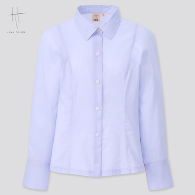 Women Hana Tajima Ramie Cotton Shirt
