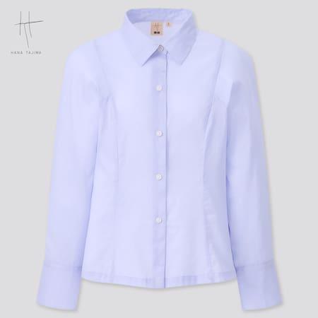 Women Hana Tajima Ramie Cotton Shirt