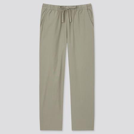 Pantalon Fluide 7/8ème en Coton Femme