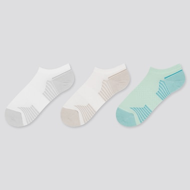 WOMEN Sports Ankle Socks (Three Pairs)