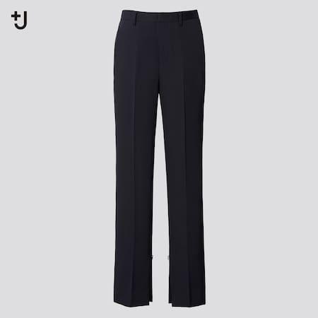 Women +J Wool Slim Fit Trousers