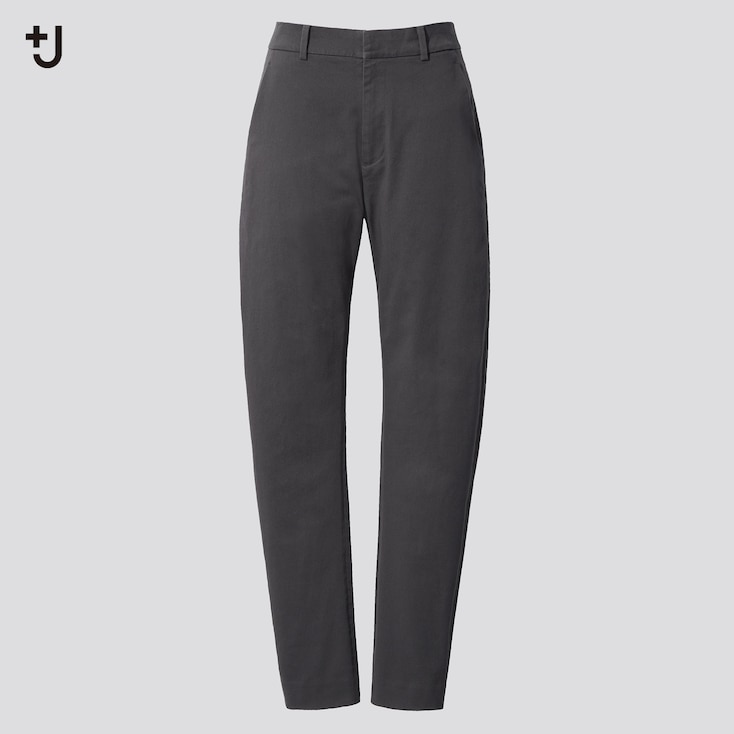 Women +J  Chino Pants, Dark Gray, Large