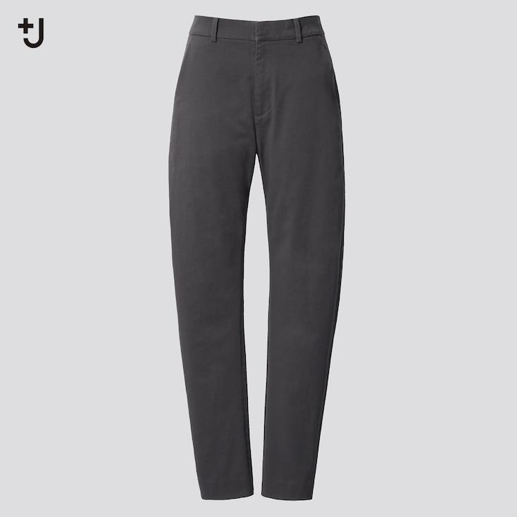 Women +J  Chino Pants, Dark Gray, Large