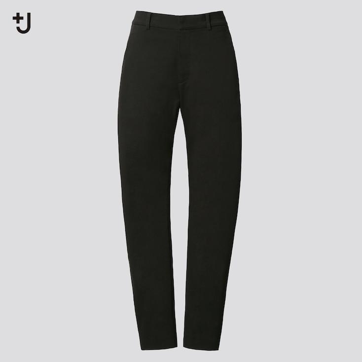 Women +J  Chino Pants, Black, Large