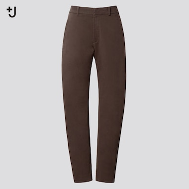 Women +J  Chino Pants, Dark Brown, Medium