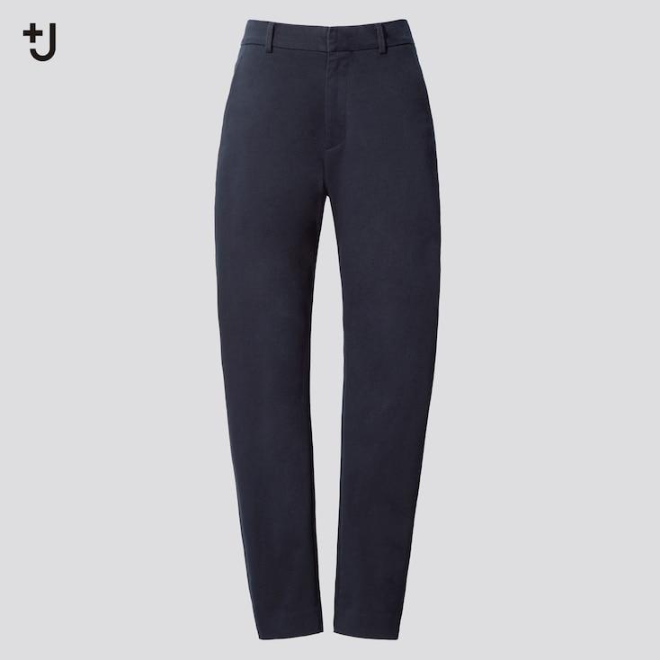 Women +J  Chino Pants, Navy, Large