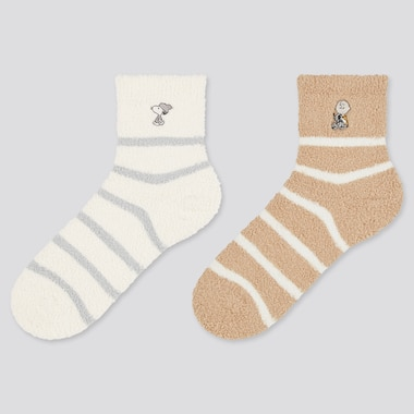 Women Peanuts Holiday UT Socks (Two Pairs)