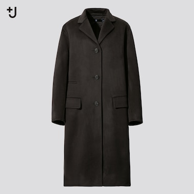 Women +J Cashmere Blend Chesterfield Coat