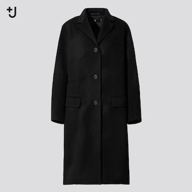 Women +J Cashmere Blend Chesterfield Coat