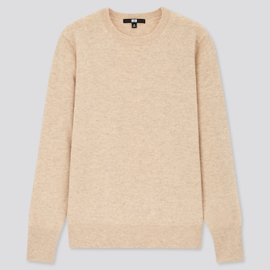 Women 100% Cashmere Crew Neck Jumper