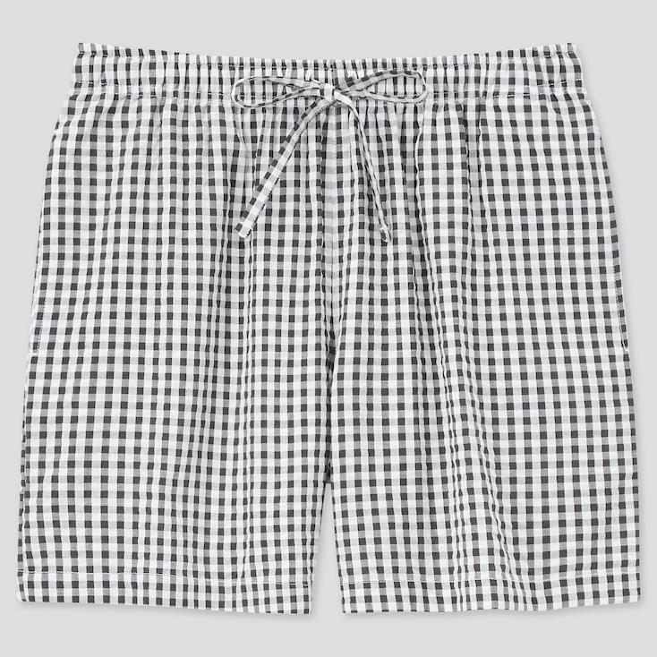 Women Cotton Relaco Shorts, Dark Gray, Large