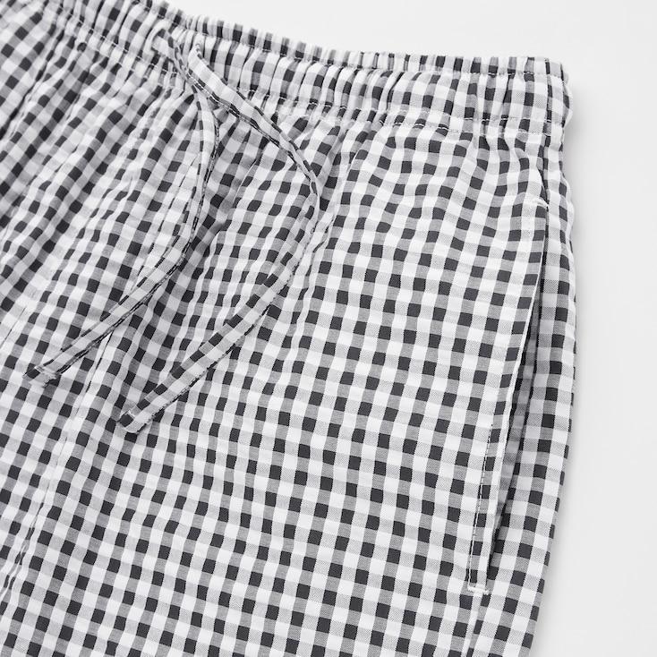 Women Cotton Relaco Shorts, Orange, Large