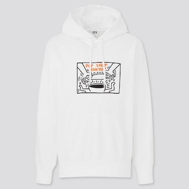 Herren Keith Haring x Tokyo UT Bedrucktes Sweatshirt mit Kapuze